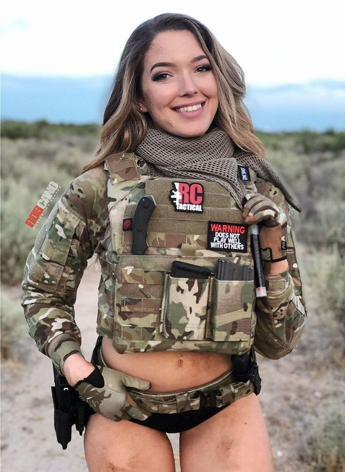 U.S Special Forces In Afghanistan | Military girl