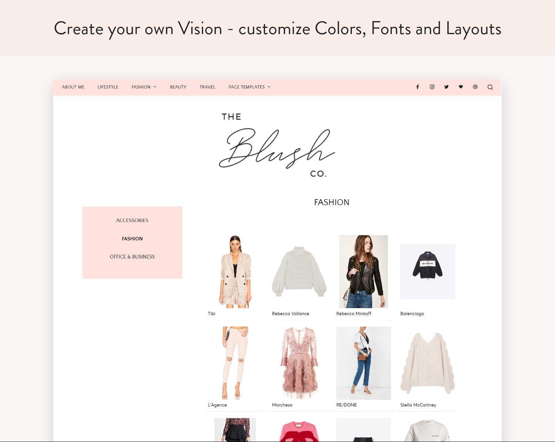 Lifestyle Amp Beauty Blog Theme