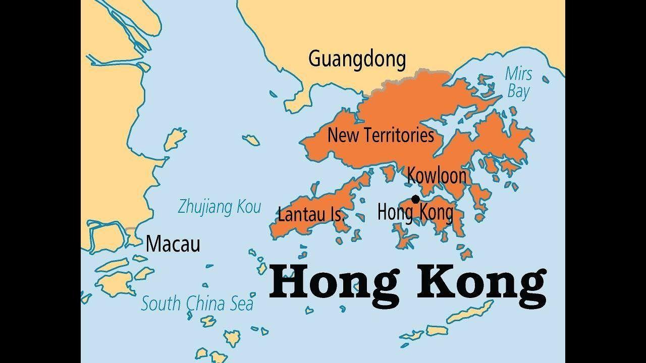 china hong kong map Rise Of China Hong Kong S Hang Seng Index Sees Decade High Rising china hong kong map