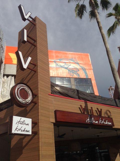 Review Of Vivo Italian Kitchen At Universal City Walk Universal