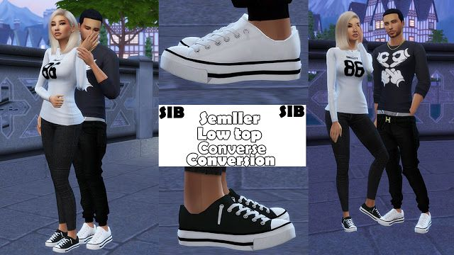 4ff38f921 Sims 4 CC s - The Best  Shoes Conversion for Males and Females by ...