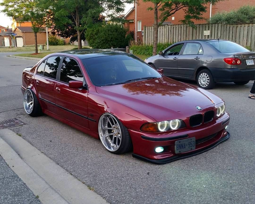 Bmw E39 M3 Slammed Stance Modified With Images Bmw Series
