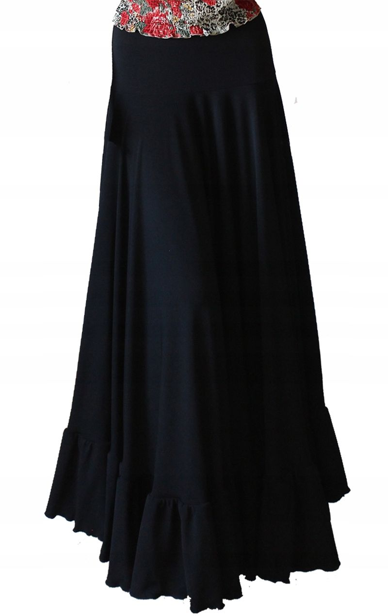 Czarna Spodnica Maxi Gotycka Kloszowa S M L Xl 7772023023 Oficjalne Archiwum Allegro Little Black Dress Dresses Fashion