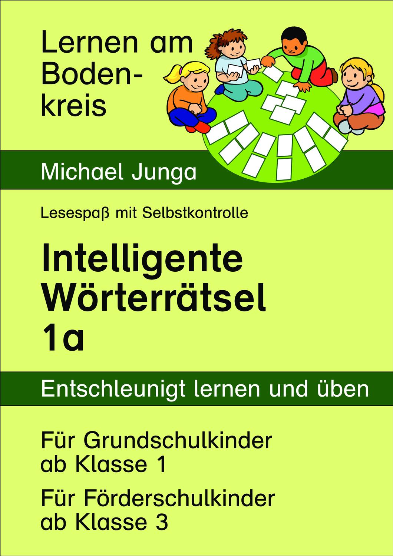Materialpaket: Lernen am Bodenkreis - 12 Intelligente Wörterrtäsel (1a bis 1l)