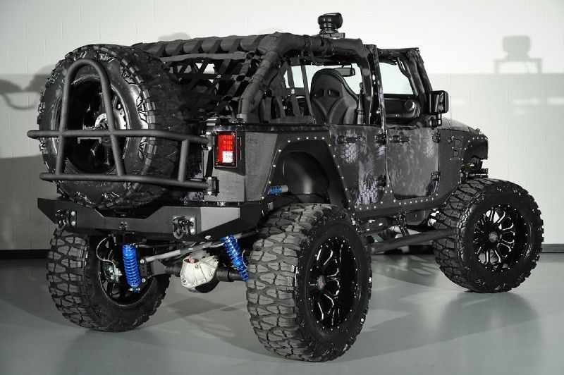 Project Jeep Night Stalker - Custom Jeep by Starwood Motors