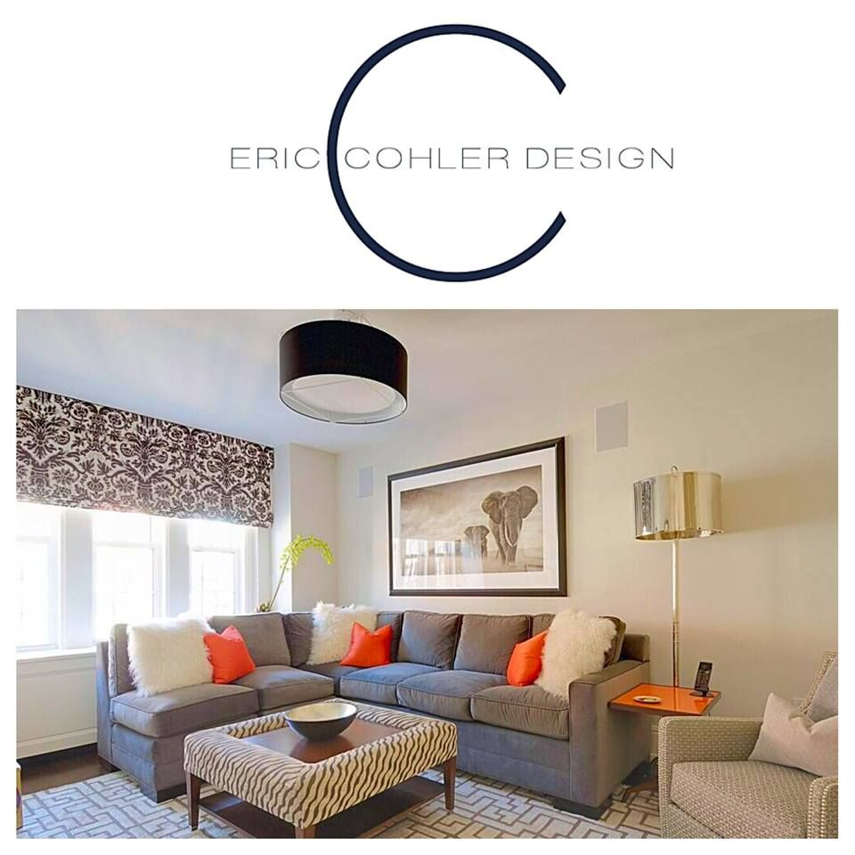 Living Room Interior Design Project #NYC #EricCohler #ECD #InteriorDesign #mixmaster