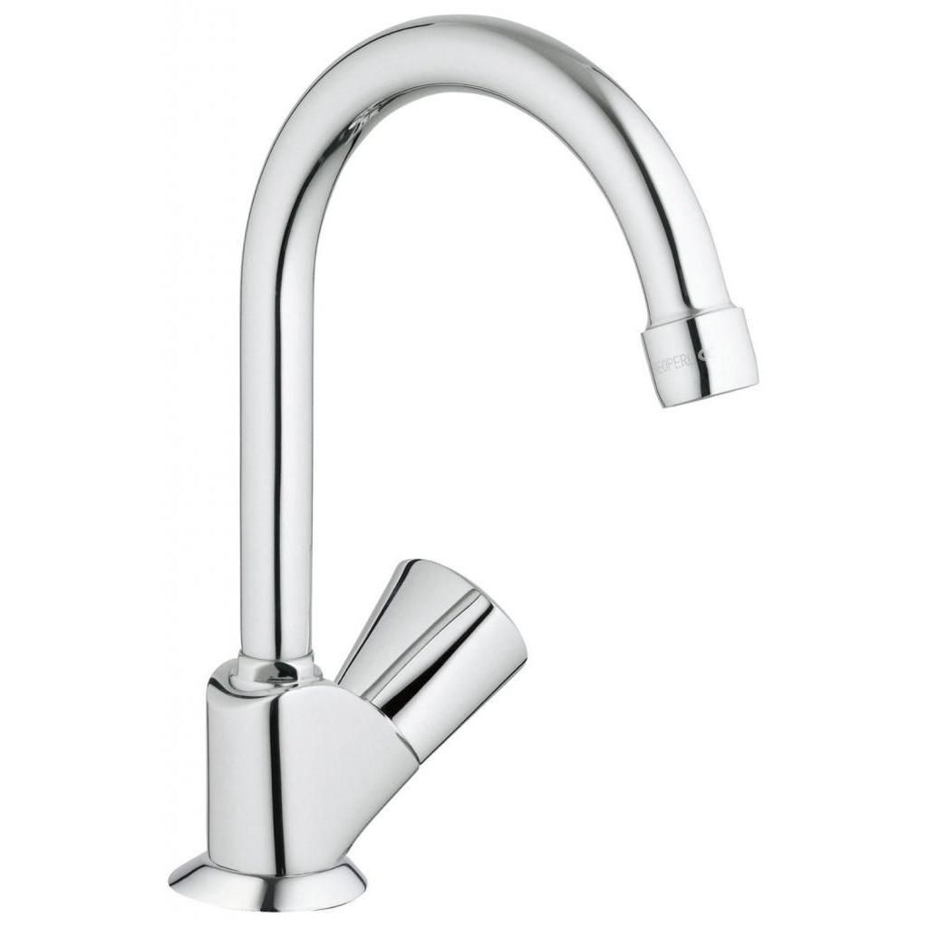 Grohe Starlight Chrome (Grey) Classic Ii Classic Pillar Tap Kitchen ...