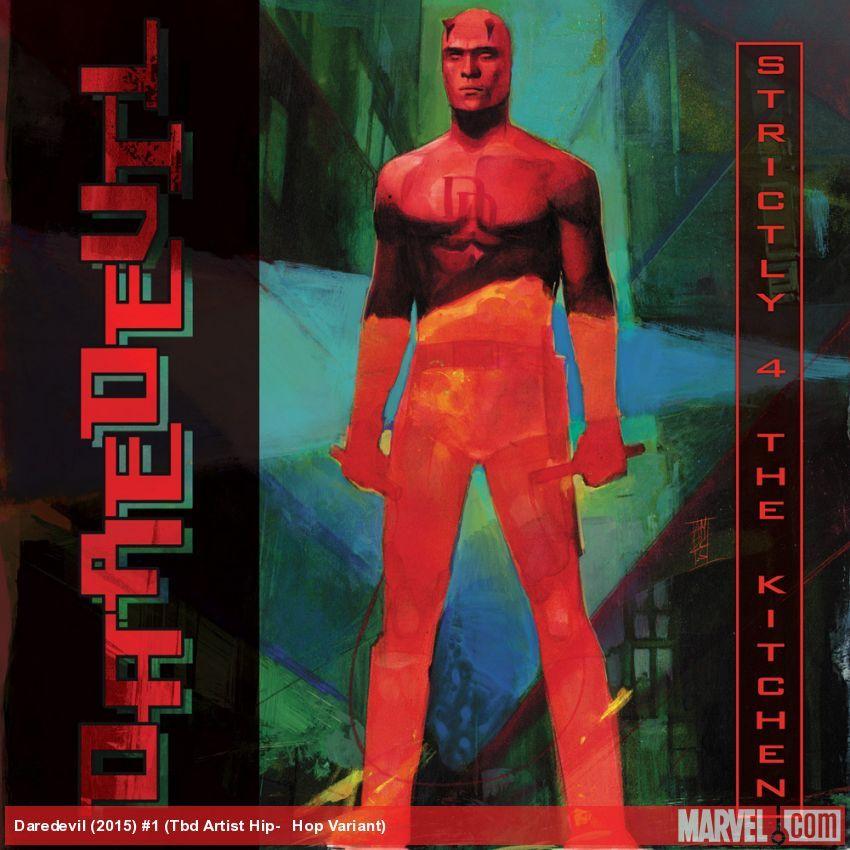Daredevil (2015) #1 variant cover by Alex Maleev