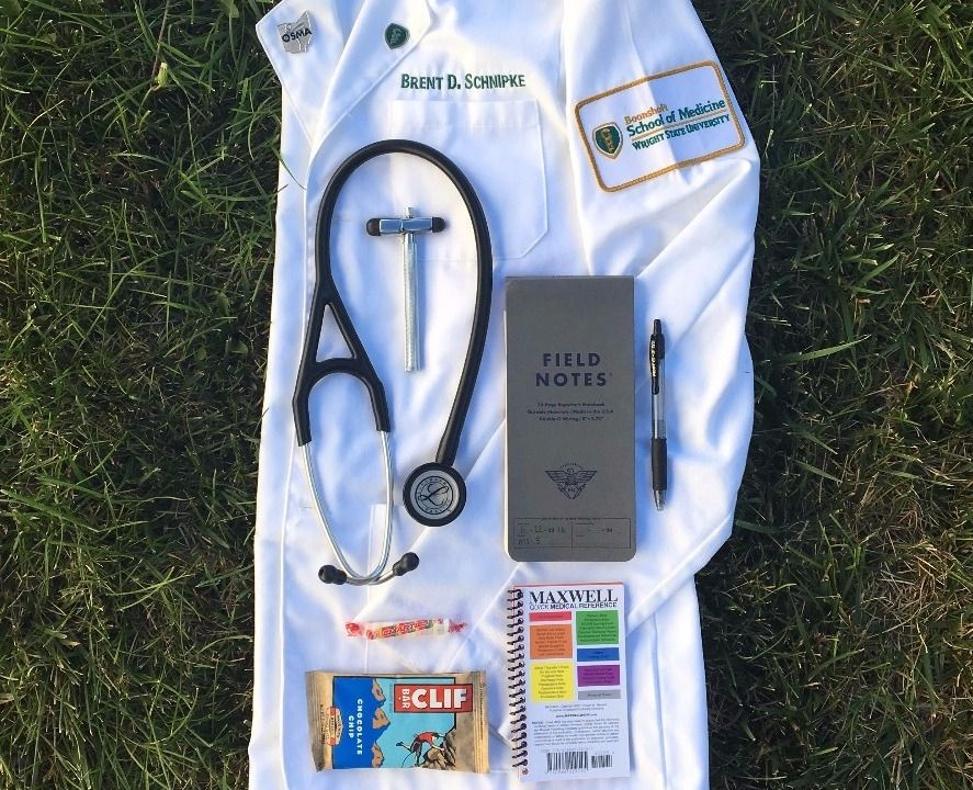 Medical Student Everyday Carry: White Coat Edition. #medicalstudents
