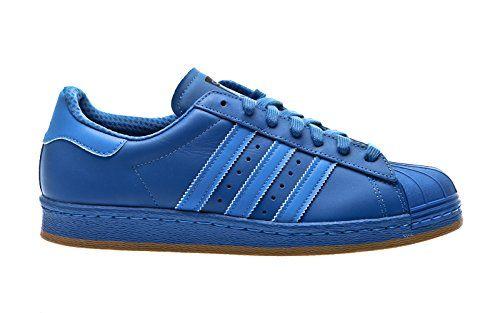 Adidas Superstar 80s Reflective Nite Jogger Sneaker B35385 Bluebird Gr. 45  1/3 (