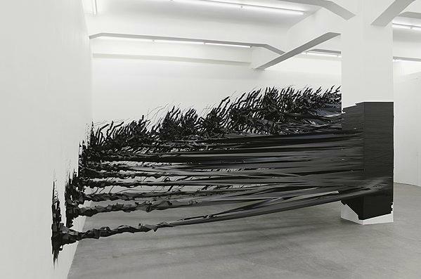 Aerial tape installation by Monika Grzymala