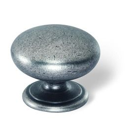 Shop Siro Designs 1-3/8-in Iron Lancaster Round Cabinet Knob at Lowes.com