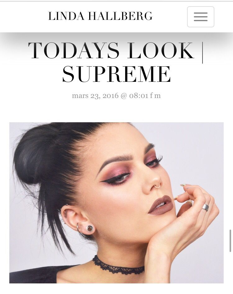 Today's look - supreme