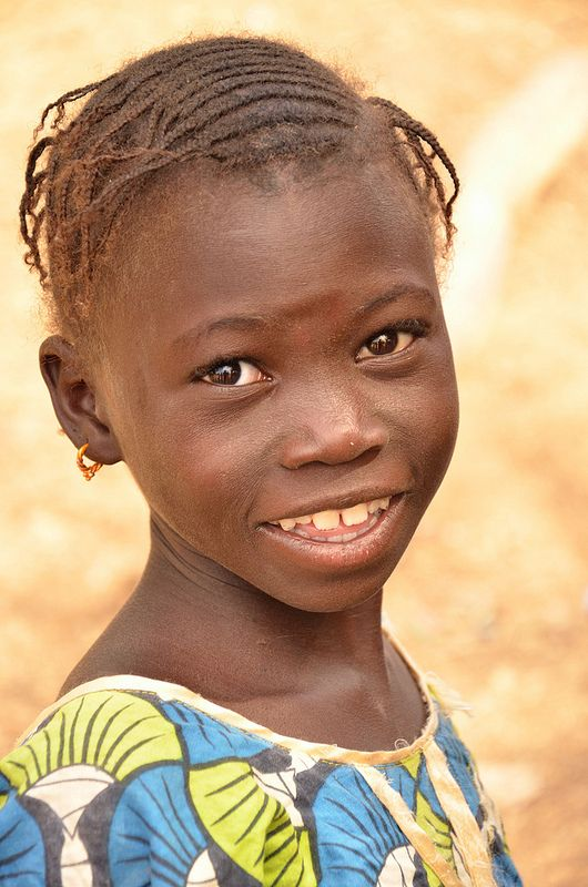 A smile from Senegal