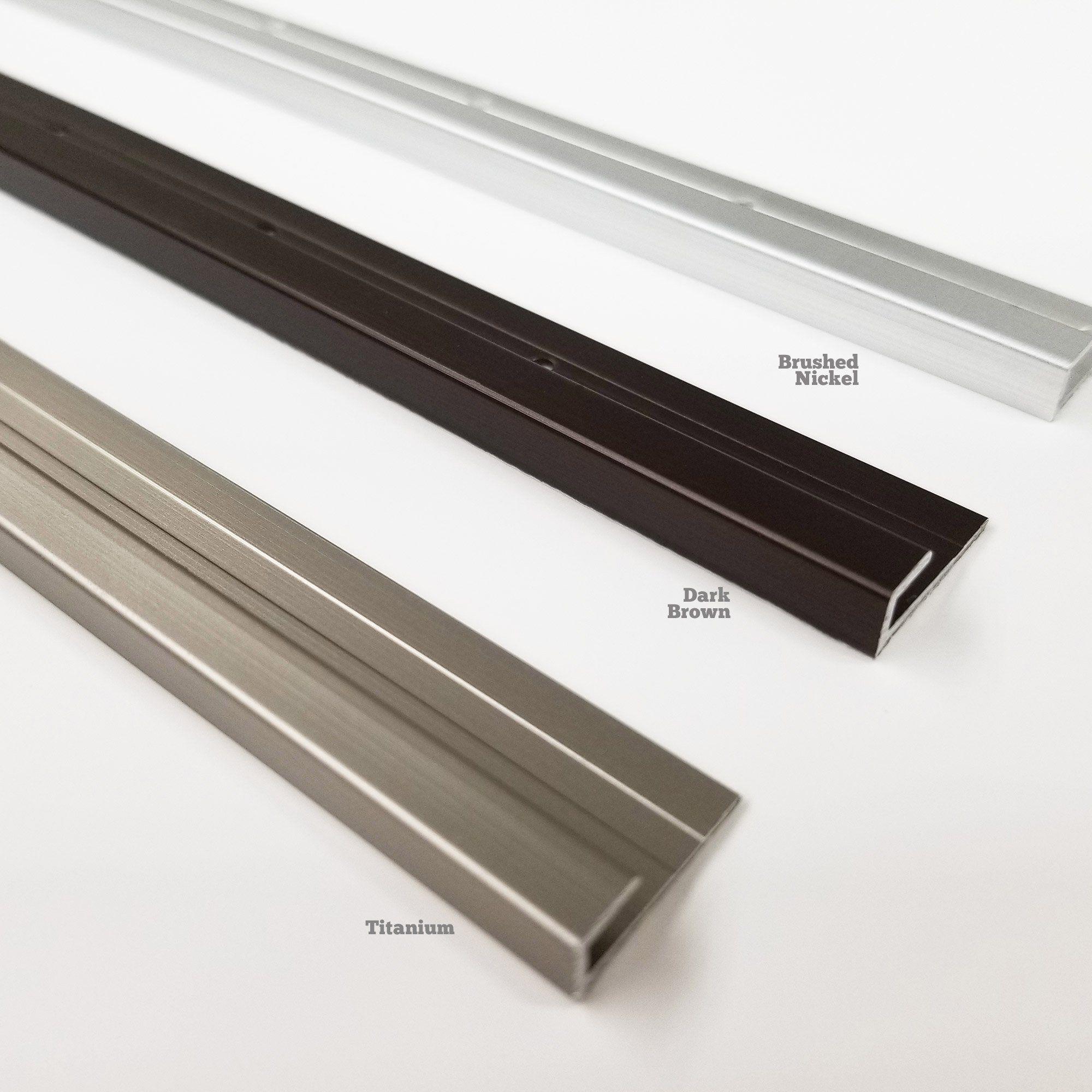 peel stick metal edge trim for planks