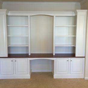 Built In Desk Wall Unit By Jeremy Derr