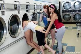 Laundromat porn 10