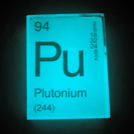 In Your Element Periodic Table Soap Plutonium Glows In The