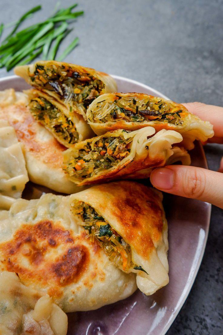 Chinese Chive Pies (Vegan Recipe)