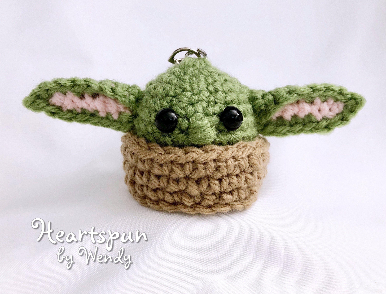 Baby Yoda Eos Lip Balm Or Hand Sanitizer Holder Or Hanging