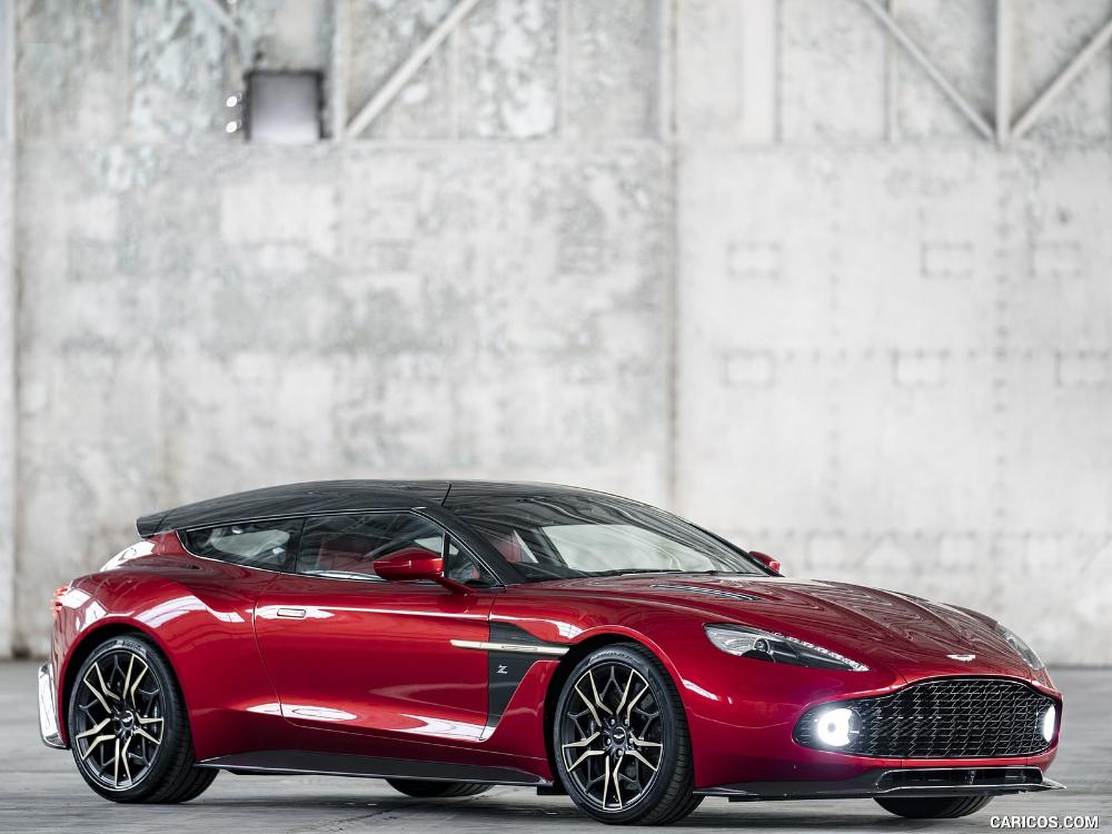 2019 Aston Martin Vanquish Zagato Shooting Brake Aston Martin
