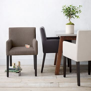 lobby chairs waiting room steel chair rubwood porter upholstered armchair westelm good simple