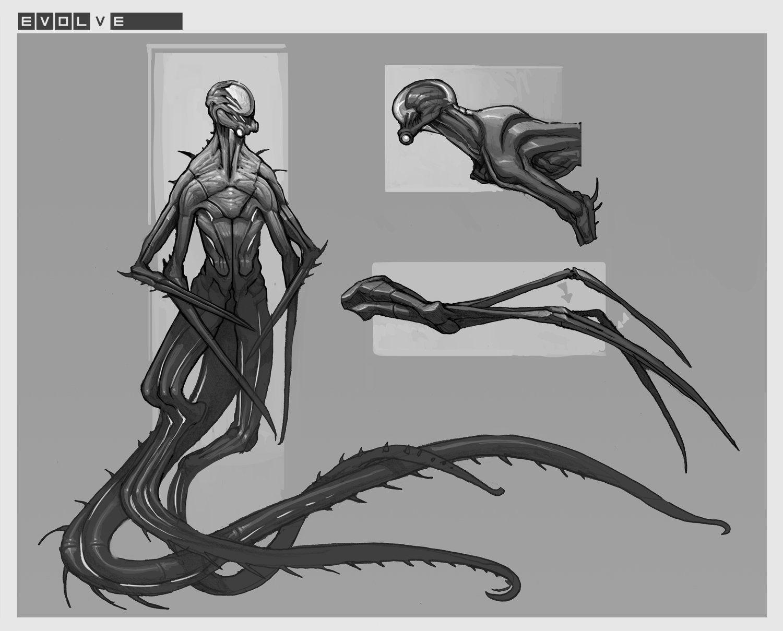 Drawing Evolve Wraith