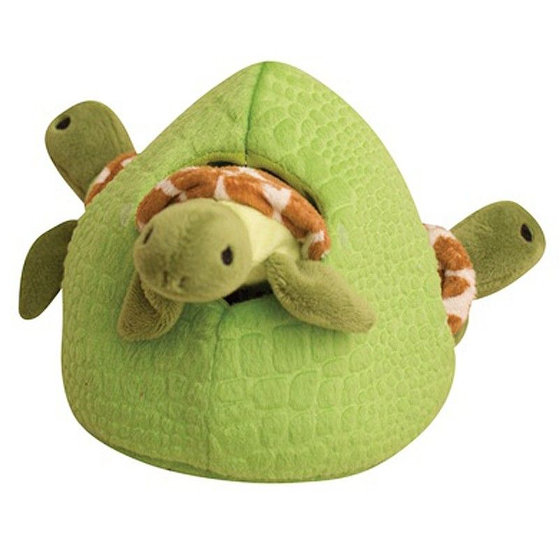 Info's : SnugArooz Interactive Dog Toy -  Hide and Seek Reef with Turtles
