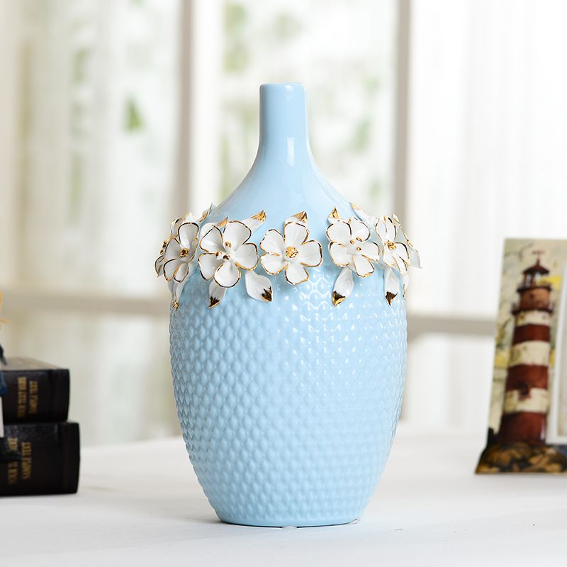 European Vintage Ceramic Flower Vases floor vase large vase