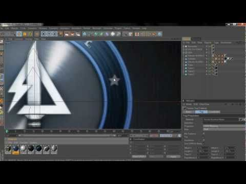 C4D Tutorial Mw3 Spinning logo - YouTube