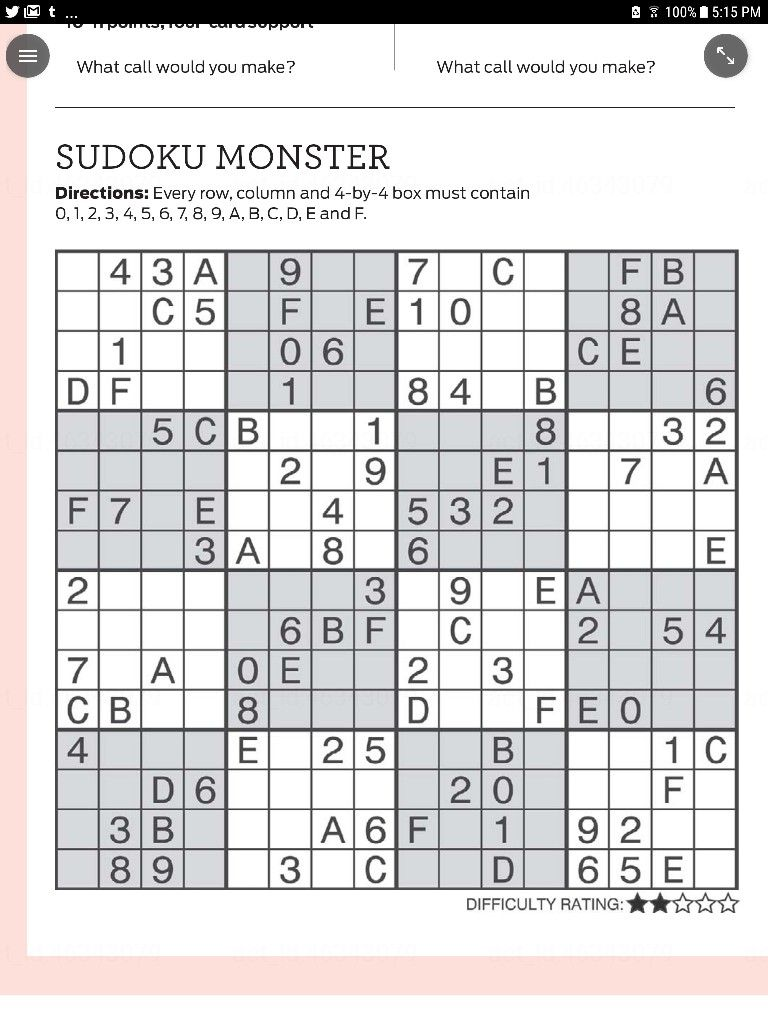 photo about Monster Sudoku Printable identified as 20171217 Sudoku Monster Crossword, Puzzle