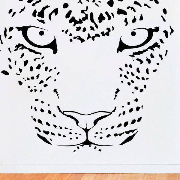 La Cara Del Leopardo Face Of Leopard Leopardo Dibujo Produccion Artistica Dibujos