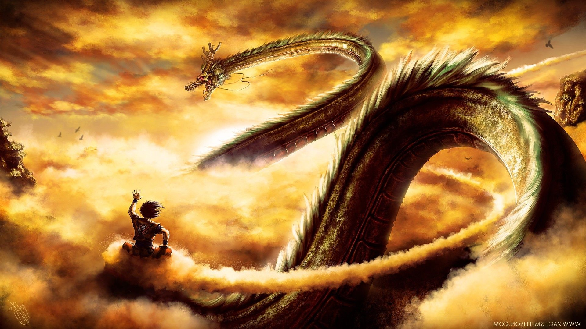 10 shenron (dragon ball) hd wallpapers | backgrounds - wallpaper