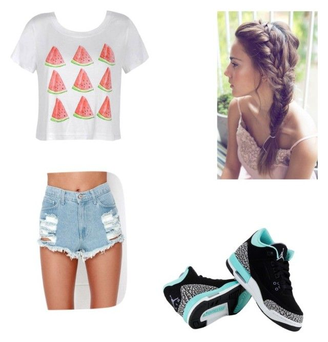 """""""Random"""" by kenzi232 on Polyvore featuring Ally Fashion and NIKE"""