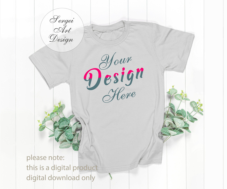 Download Digital Gray T Shirt Mockup Styled Stock Photo Women S T Shirt Tshirt Mockup Ladies Mockup Mockup For Svg Realistic Mockup For Design Styled Stock Photos Shirt Mockup Styled Stock