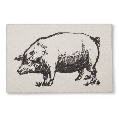 Pig Kitchen Rug From Target Pig Kitchen Kitchen Rugs And Mats