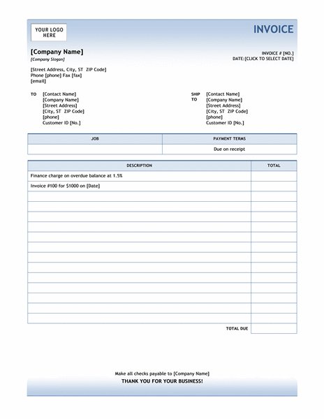 A Finance Charge Invoice Is A Template That Is Used To Assess Any