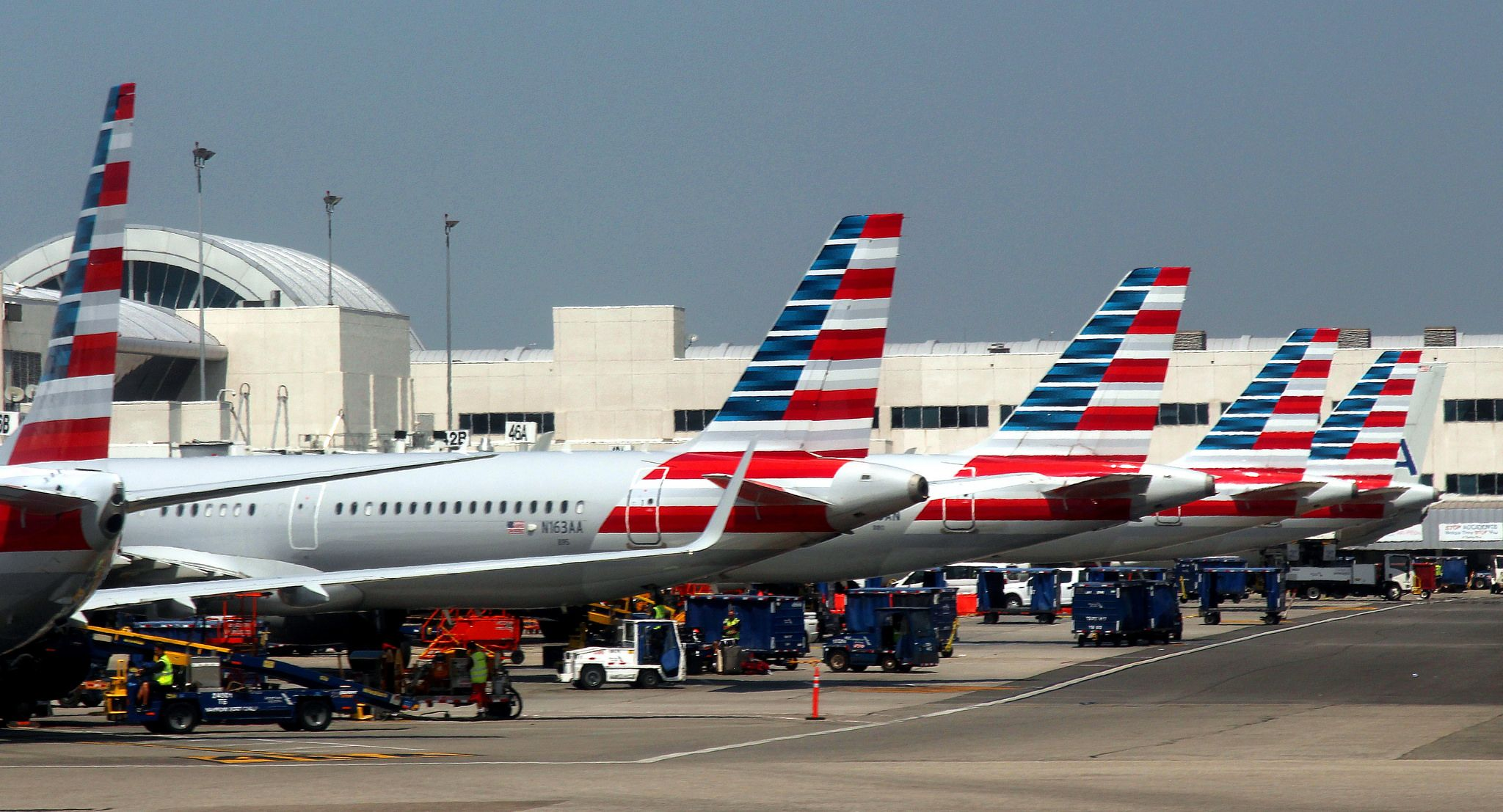AA * American Airlines American, Air photo, Airline flights