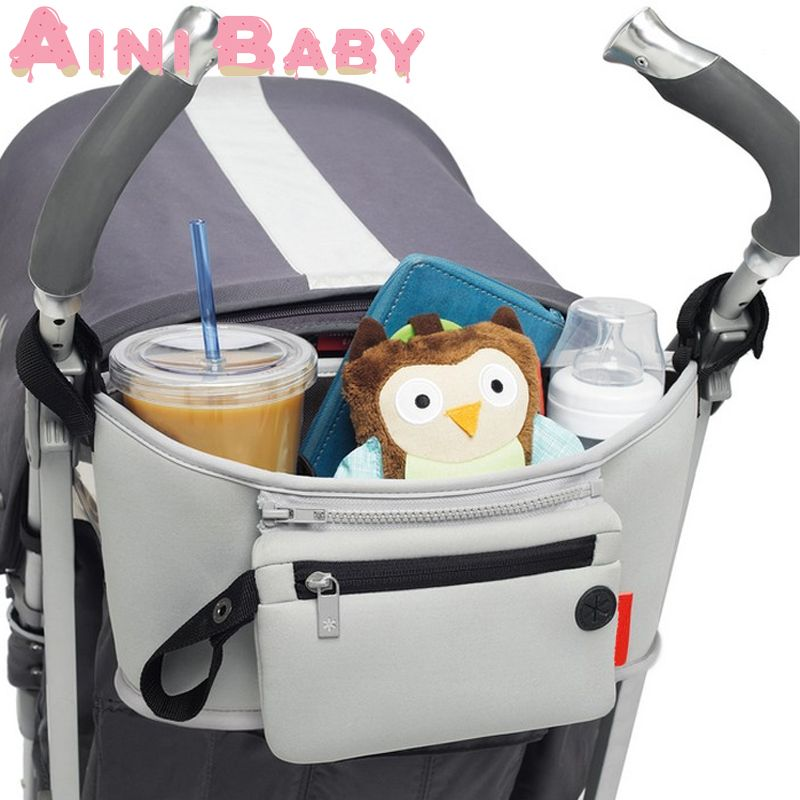 Carro Beb/é Bolso de bolsa de almacenamiento bolsa de pa/ñales para Impermeable Infantil