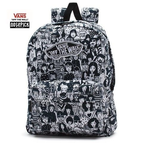 mochila vans off the wall