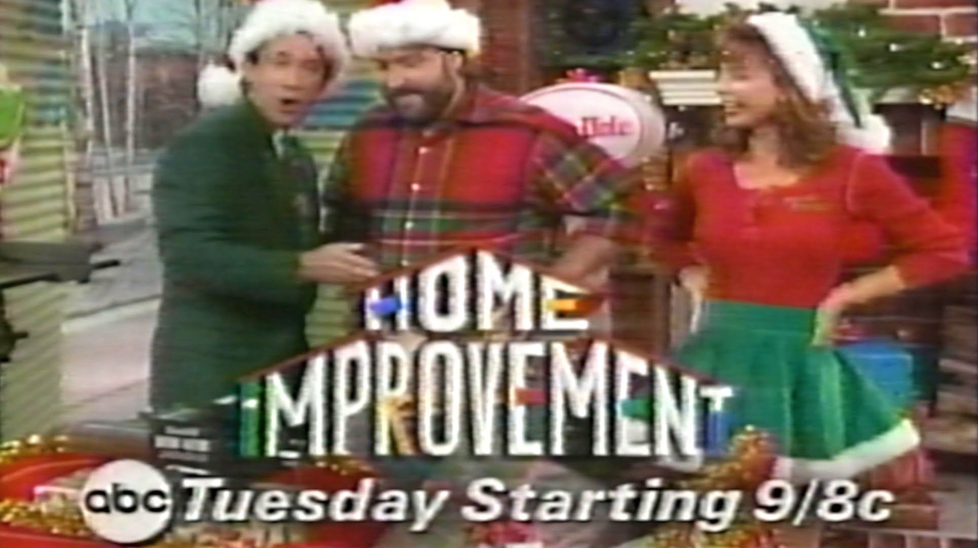 1994 Promo Home Improvement Christmas Episode Tuesday 9pm C On Abc Christmas Episodes Abc Home Improvement