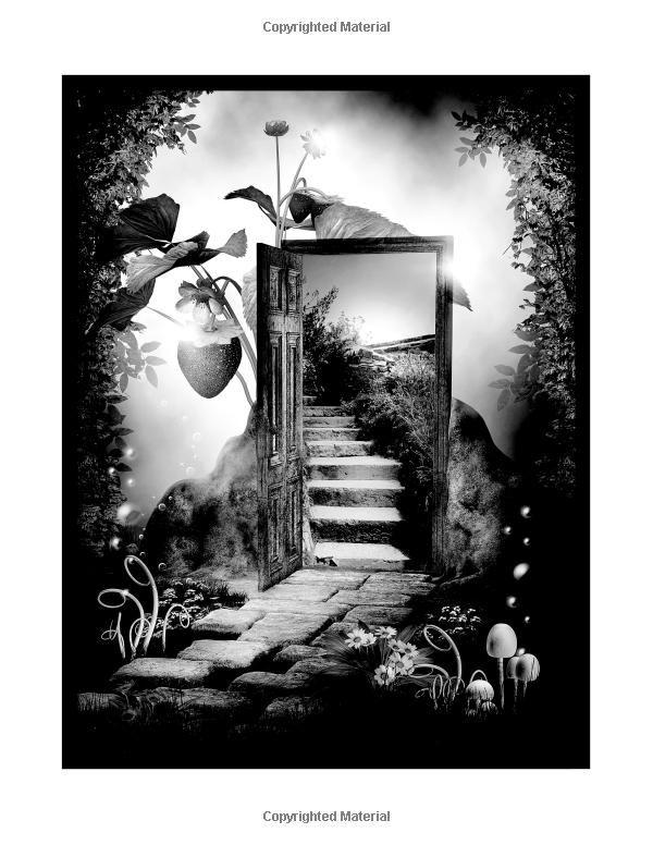 Amazon Dream World Grayscale Coloring Book 9781542381444 Karlon Douglas
