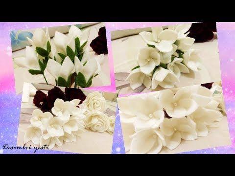 Cara Membuat Bunga Dari Kain Flanel By Desembri Yesti Youtube Paper Flowers Craft Making Fabric Flowers Felt Flowers Diy