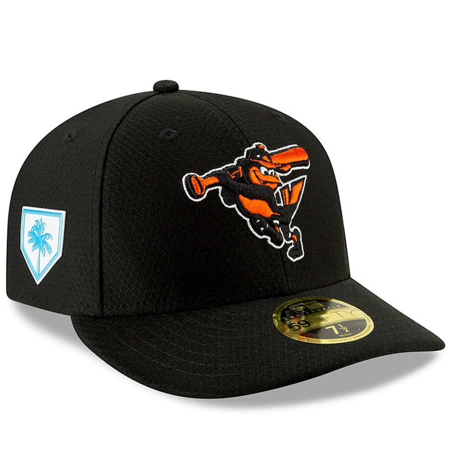 factory price 75732 e1e99 Men s Baltimore Orioles New Era Black 2019 Spring Training Low Profile  59FIFTY Fitted Hat,  39.99