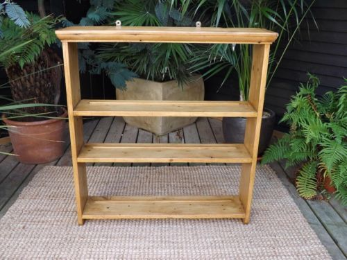 LOVELY-OLD-VICTORIAN-EDWARDIAN-ANTIQUE-PINE-PLATE-RACK- : antique pine plate rack - pezcame.com