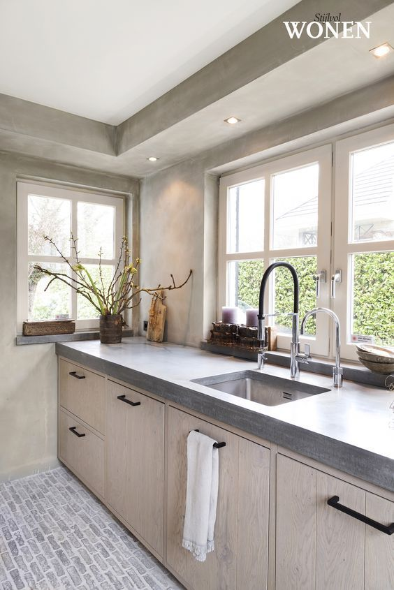Een Realisatie Van Kitchen Concepts Interieur Decoration Cuisine Plafond Cuisine Et Cuisine Appartement