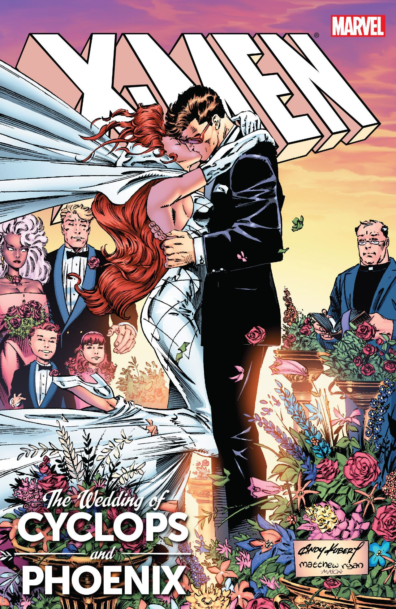 X Men Wedding Of Cyclops Phoenix Comics By Comixology Comic Book Wedding X Men Wedding Men