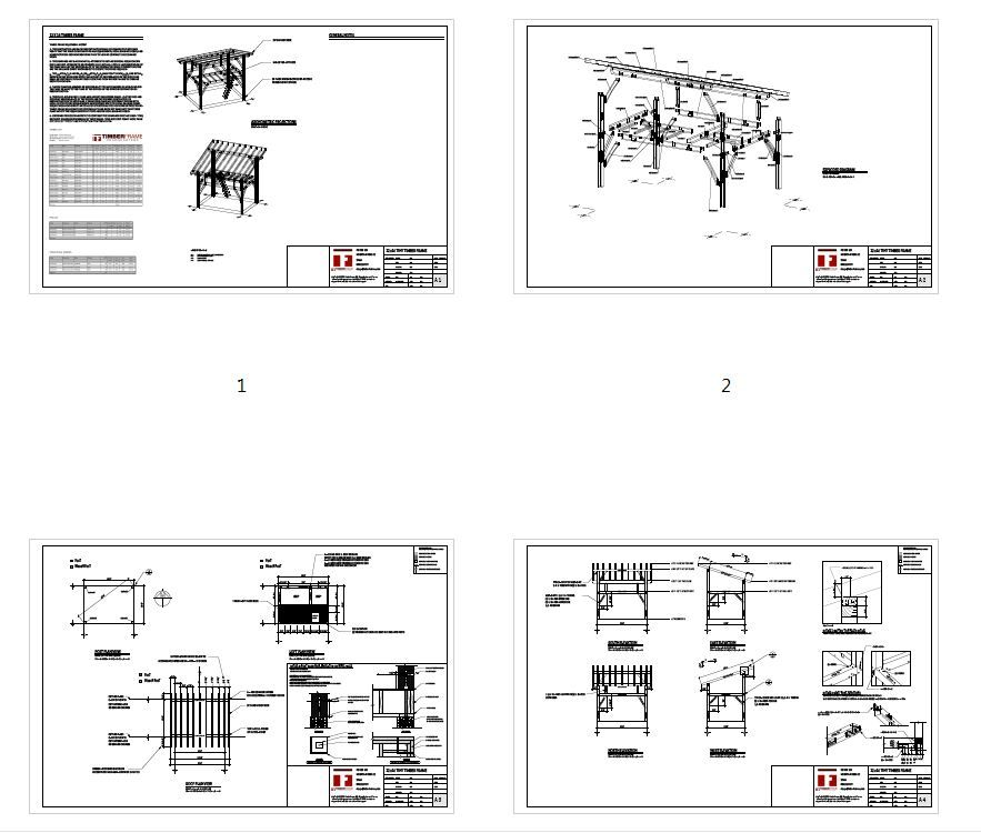 12x16 Tiny Timber Frame Plan With Loft Timber Frame Hq In 2021 Tiny Timber Frame Tiny Timber Frame House Timber Frame Plans
