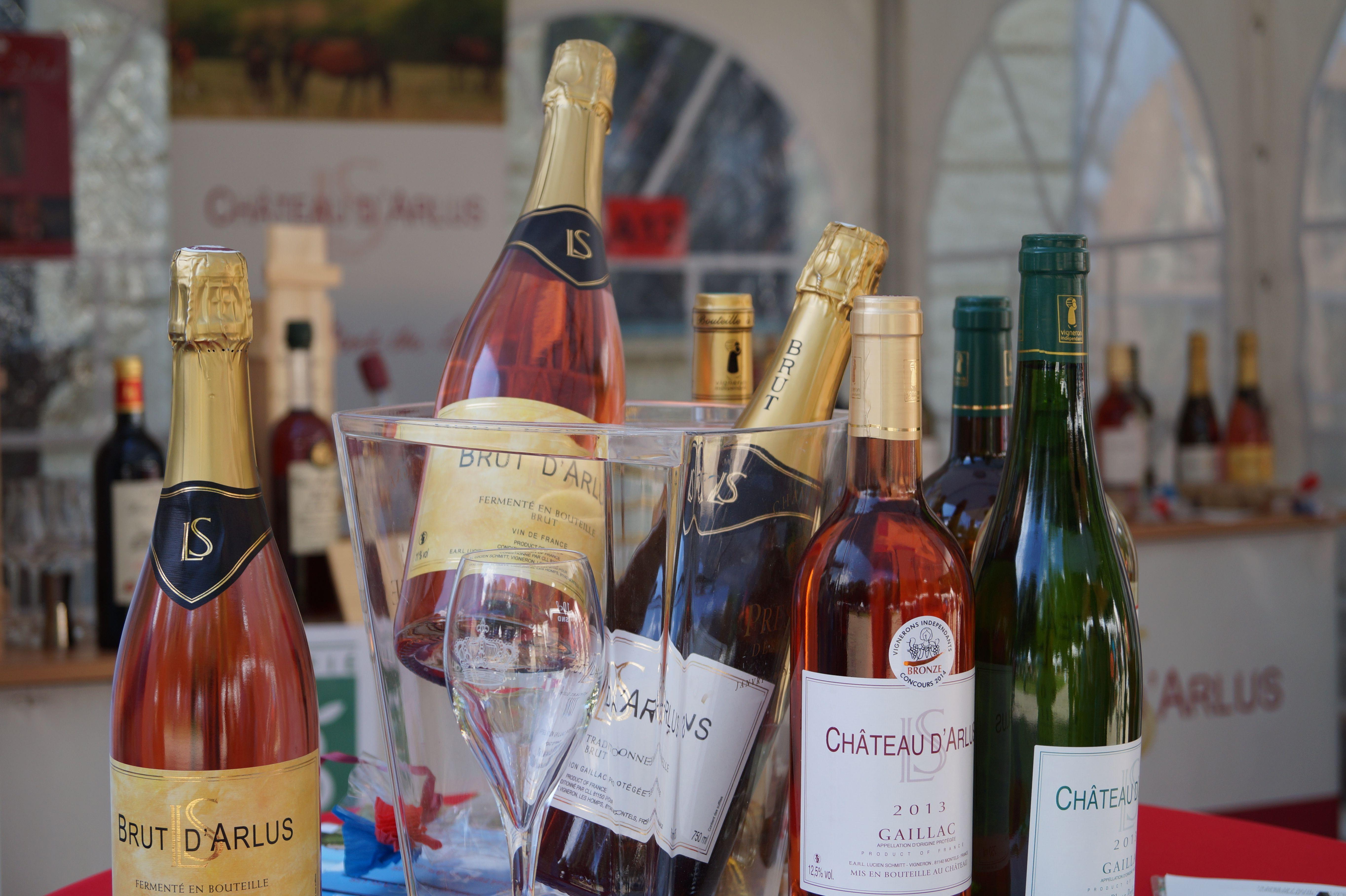 Wein aus Frankreich vom Weingut Château D'Arlus