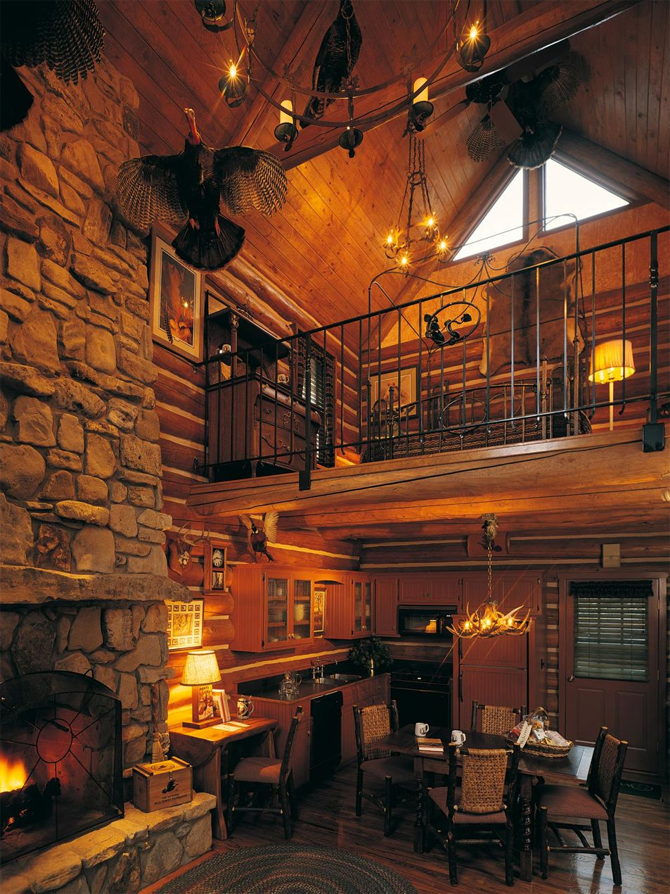 Big Cedar Lodge in Branson Missouri | Two Bedroom Cabin w/ Loft
